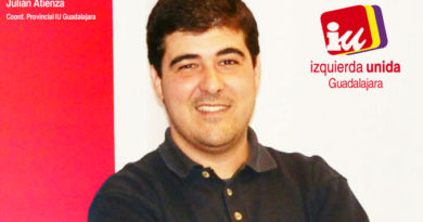 Julian Atienza, Coordinador Provincial IU Guadalajara