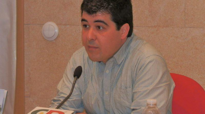 Julián Atienza, Coord. Provincial de IU Guadalajara