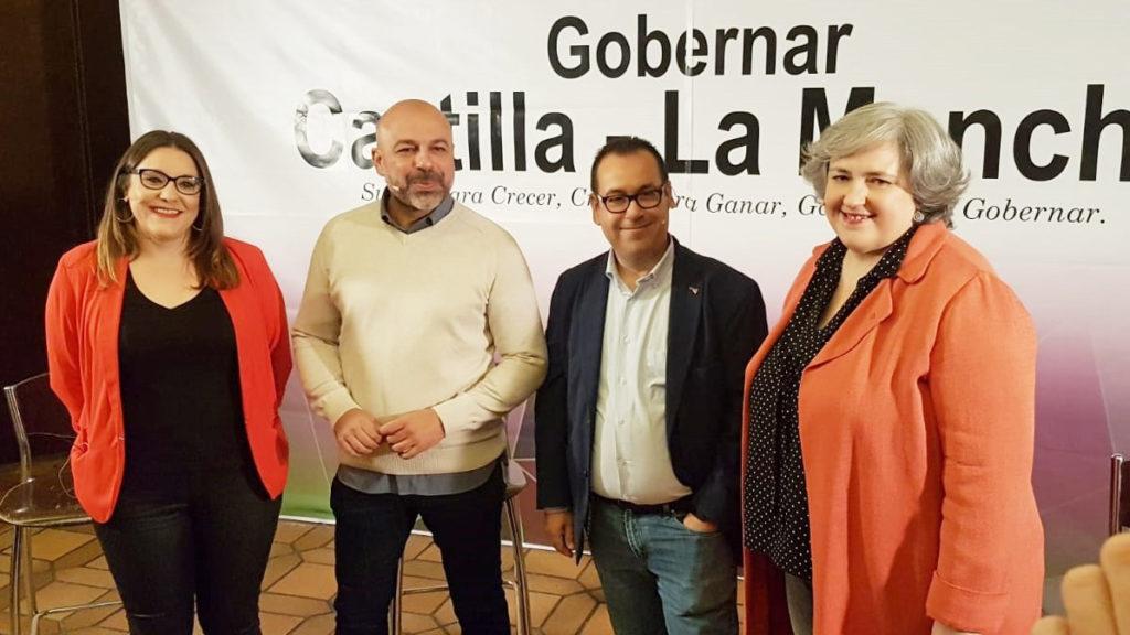Coordinadores Regionales de IU y Podemos CLM