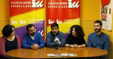IU Guadalajara presenta sus candidaturas a las elecciones autonómicas y municipales de más de 20.000 habitantes