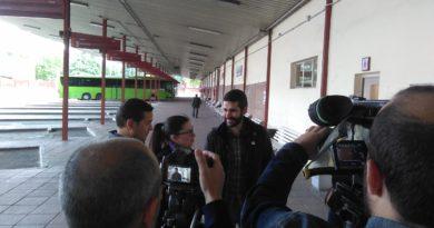 """Ana del  Val: """"El siglo XXI no ha llegado a la estación de autobuses"""""""
